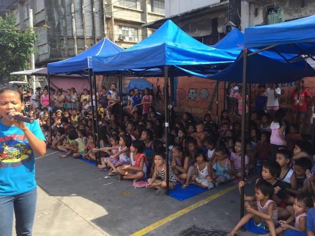 Sidewalk Sunday School Manila
